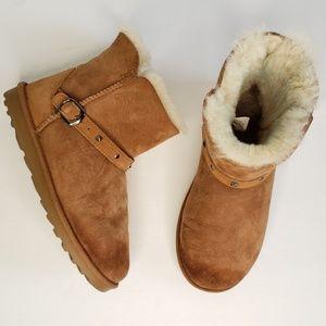 Kirkland Shearling Tan Sheepskin Boot S23
